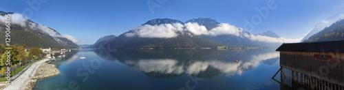 Foto op Plexiglas Bergen Achensee, 180 Grad Panorama