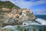 Historic Manarola in Cinque Terre, Italy