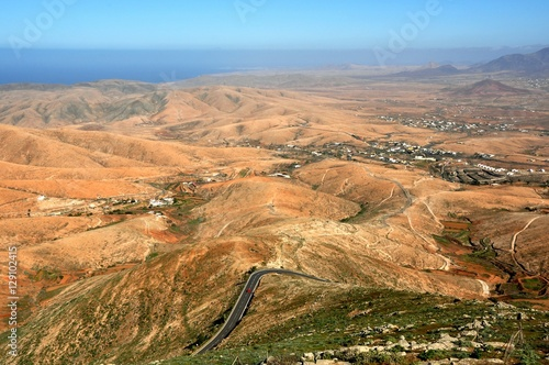 Poster Fuerteventura - point de vue depuis le mirador Morro Velosa