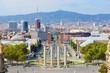 Barcelona - view of Plaça Espanya