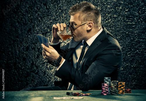 drinking brandy плакат