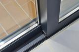 Sliding glass door detail and rail - 129106605