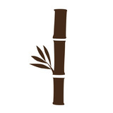 bamboo plant icon image vector illustration design