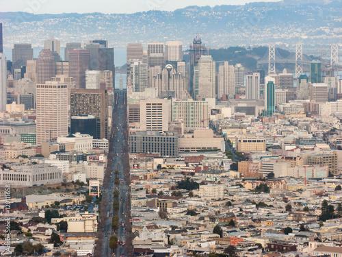 Plakát, Obraz San Francisco Cityscape 2