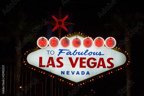 Foto op Canvas Las Vegas Las Vegas Sign