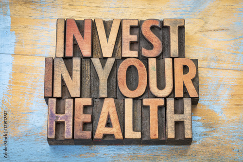 invest in your health in wood type
