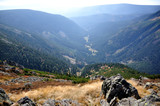 Fototapety Krajobraz górski, Karkonosze.