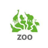 vector logo zoo - 129121410
