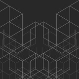 Vector abstract boxes