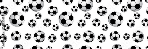 Seamless football balls.