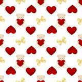 Teddy Bear Valentines Day Card