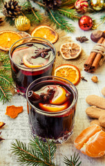 Christmas mulled wine. Merry christmas.