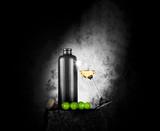 Grappa in earthenware-bottle - 129220809