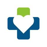 love cross logo vector. health logo. medical logo.