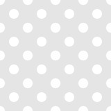 Seamless polka dot light gray background