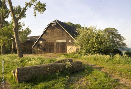 Farm building near Nieuwendijk Poster