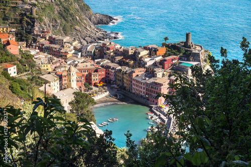 Poster Vernazza, Cinque Terre, Ligurie, Italie