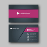 Business Card Template. - 129408883