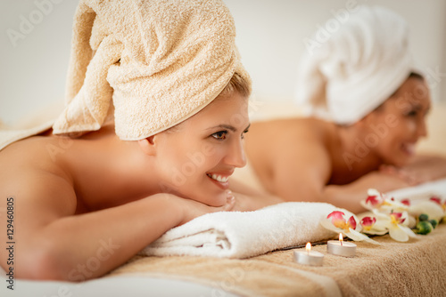 Two Girls In The Spa Centre © milanmarkovic78