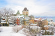 Historic Chateau Frontenac in Quebec City