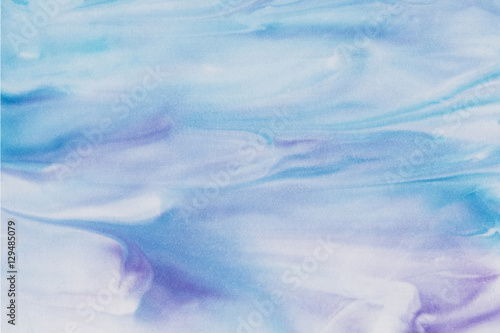 Abstract colorful watercolor background. - 129485079