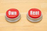 The difference between owning and renting