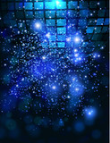 Fototapety Vector template background with sparkles