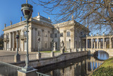 The Royal Lazienki Park in Warsaw - Palace on The Water from XVIII century - 129507478