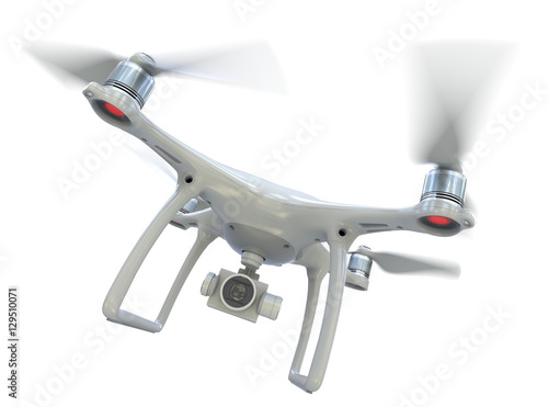 Fototapeta Drone with camera