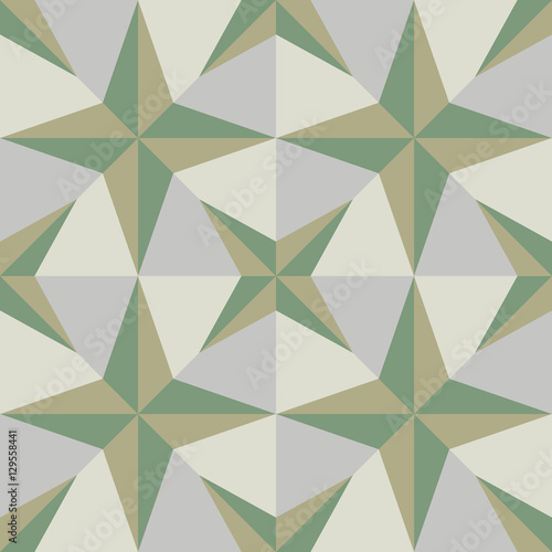 Hydraulic vintage cement tiles - 129558441
