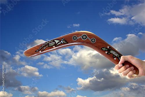 Australian Boomerang Poster