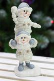 снеговики акробаты
