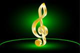 Violin key, music clef,