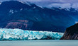 Hubbard Glacier, Alaska - Sept. 11, 2016: This glacier is located in eastern Alaska and off the coast of Yakutat, 200 miles NW of Juneau Alaska. it is more than six miles wide.