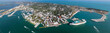 Key West Aerial Panoramic - Looking Down Duvall St