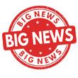 Big news sign or stamp