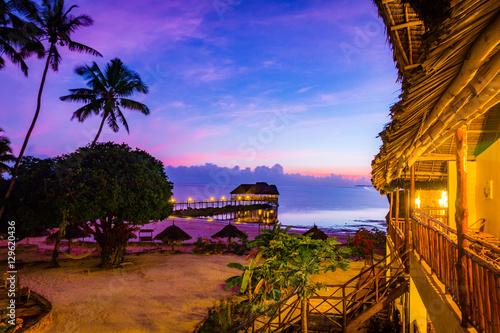Fotobehang Zanzibar MASAJE