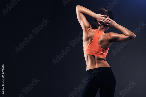 Fototapeta Fit girl