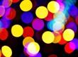 Dekoracje świetlne bożonarodzeniowe z efektem bokeh