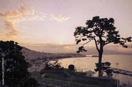 Fotobehang Napels Golfo di Napoli