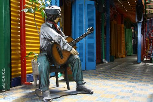 Fotobehang Buenos Aires Caminito, Barrio La Boca, Buenos Aires, Argentina