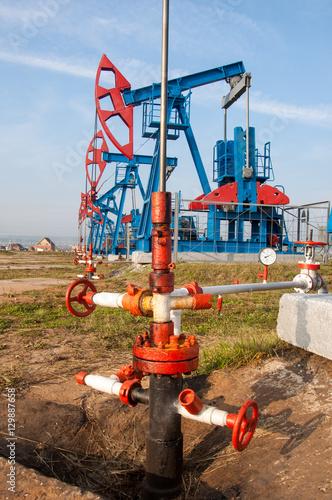 Staande foto Industrial geb. Oil and gas industry.