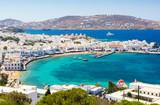 view on Mykonos island, Cyclades, Greece - 129893633