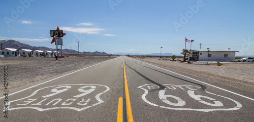 Foto op Canvas Route 66 Route 66