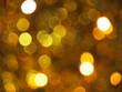 Iluminacje bożonarodzeniowe - zdjęcie z efektem bokeh
