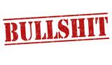 Bullshit sign or stamp