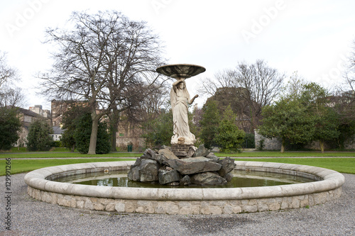 Poster Fountain in Iveagh Gardens, Dublin