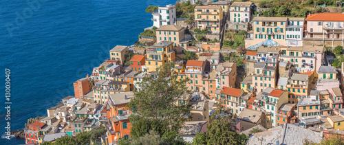 panorama de Riomaggiore, cinq terres, Italie