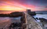 The Stone Bridge and a beautiful sunrise