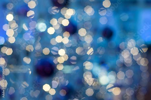 illuminations abstraites bleu de la nuit - 130085489
